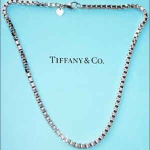 Authentic Tiffany & Co. Venetian Link Necklace